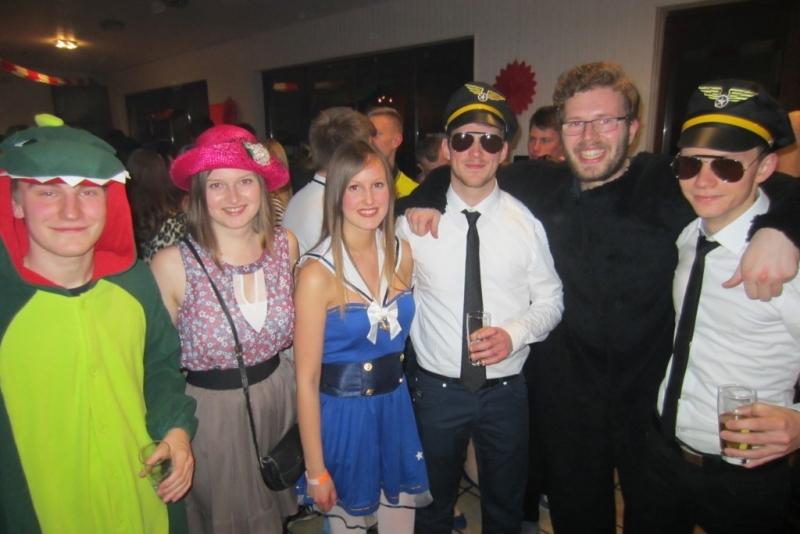 Stöckter Lumpenball 2015